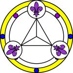 3 Lilien Diskus