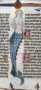 Schon in alten Schriften der Efferdkirche wird die Liebesgeschichte recht einseitig dargestellt. (Quelle: British Library / Public Domain)