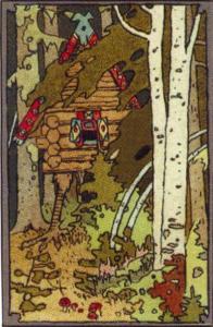 Baba Jagas Hütte